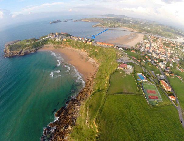 Nuestra surf house se encuentra aquí
