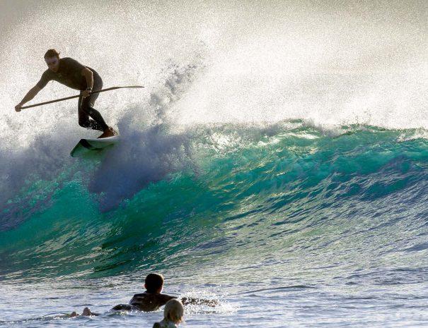 Tino aja floater paddel surf los locos escuela