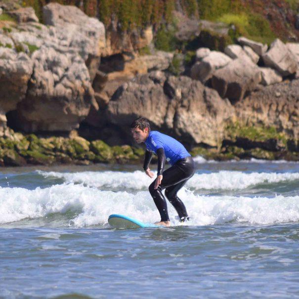 surf para adultos en la escuela de surf los locos
